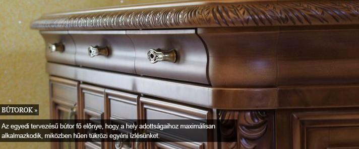 bútor, beltér -egyedi faragott bútor