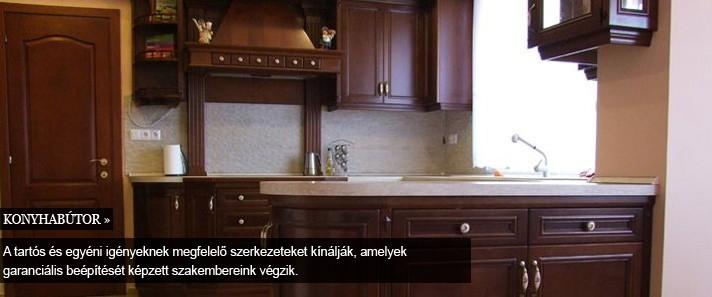 bútor, beltér -konyhaszekrény, konyhabútor