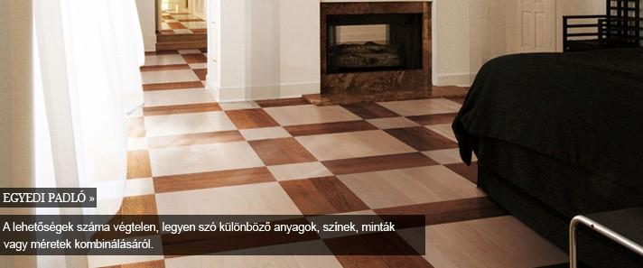 padló -egyedi