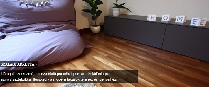 parketta -szalagparketta, padlófűtés